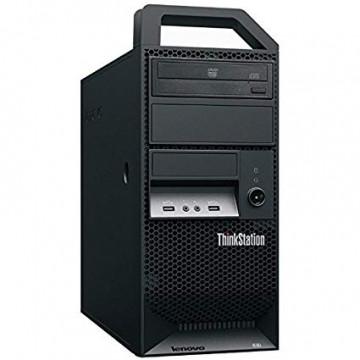 Workstation Lenovo ThinkStation E30 Tower, Intel Xeon Quad Core E3-1220 3.10GHz-3.40GHz, 8GB DDR3, 1TB SATA, Placa video Gaming AMD Radeon R7 350 4GB GDDR5 128-Bit, DVD-ROM, Second Hand Workstation