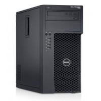 Workstation Dell Precision T1700, Intel Xeon Quad Core E3-1270 V3 3.50GHz - 3.90GHz, 8GB DDR3, 120GB SSD + 1TB SATA, nVidia Quadro 2000/1GB, DVD-RW