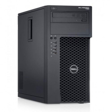 Workstation Dell Precision T1700, Intel Xeon Quad Core E3-1270 V3 3.50GHz - 3.90GHz, 8GB DDR3, 120GB SSD + 1TB SATA, nVidia Quadro K2000/2GB, DVD-RW, Second Hand Calculatoare Second Hand
