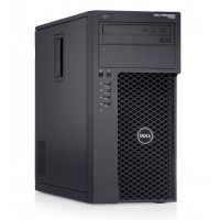 Workstation Dell Precision T1700, Intel Xeon Quad Core E3-1271 V3 3.60GHz - 4.00GHz, 8GB DDR3, 120GB SSD + 500GB SATA, nVidia GT605/1GB, DVD-RW