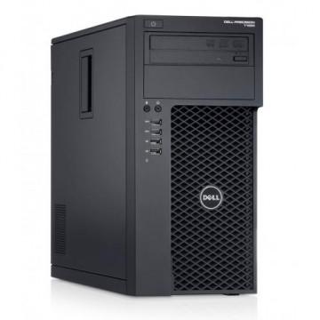 Workstation Dell Precision T1700, Intel Xeon Quad Core E3-1271 V3 3.60GHz - 4.00GHz, 8GB DDR3, 120GB SSD + 500GB SATA, nVidia GT605/1GB, DVD-RW, Second Hand Calculatoare Second Hand