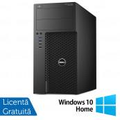 Workstation Dell Precision 3620, Intel Core i7-6700 3.40GHz - 4.00GHz, 32GB DDR4, 256GB SSD, nVidia Quadro K2200/4GB, DVD-RW + Windows 10 Home, Refurbished Workstation