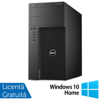 Workstation Dell Precision 3620, Intel Core i7-6700 3.40GHz - 4.00GHz, 32GB DDR4, 256GB SSD, nVidia Quadro K2200/4GB, DVD-RW + Windows 10 Home