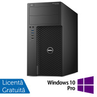 Workstation Dell Precision 3620, Intel Core i7-6700 3.40GHz - 4.00GHz, 32GB DDR4, 256GB SSD, nVidia Quadro K2200/4GB, DVD-RW + Windows 10 Pro