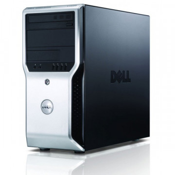 Workstation Dell Precision T1500, Intel Dual Core i3-540 3.06GHz, 4GB DDR3, 250GB HDD, nVidia GT605/1GB, DVD-ROM, Second Hand Workstation