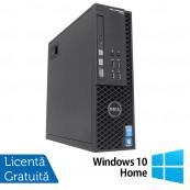 Workstation Dell Precision T1700 SFF, Intel Quad Core i7-4770 3.40GHz - 3.90GHz, 32GB DDR3, 240GB SSD, nVidia Quadro 600/1GB, DVD-RW + Windows 10 Home, Refurbished Workstation