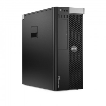 Workstation DELL Precision T3610 Intel Xeon Hexa Core E5-1650 V2 3.50GHz - 3.90GHz, 32GB DDR3 ECC, 240GB SSD + 2TB HDD SATA, Placa Video Nvidia Quadro K4000 3GB/192 Biti, Second Hand Workstation