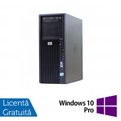 Workstation HP Z200, Intel Core i5-650 3.20GHz - 3.46GHz, 4GB DDR3, HDD 250GB, Intel HD Graphics On-Board, DVD-RW + Windows 10 Pro, Refurbished Workstation