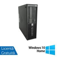 Workstation HP Z220 SFF, Intel Core i5-3470 3.20GHz - 3.60GHz, 16GB DDR3, 240GB SSD + 1TB HDD, Intel HD Graphics 2000, DVD-RW + Windows 10 Home