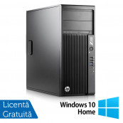 Workstation HP Z230 Tower, Intel Quad Core i7-4770 3.40GHz-3.90GHz, 16GB DDR3, 2TB SATA, DVD-RW, nVidia K620/2GB + Windows 10 Home, Refurbished Workstation