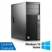 Workstation HP Z230 Tower, Intel Xeon Quad Core E3-1245 v3 3.40GHz-3.80GHz, 16GB DDR3, 1TB SATA, DVD-RW, AMD Radeon HD 7350 1GB GDDR3 + Windows 10 Home, Refurbished Workstation