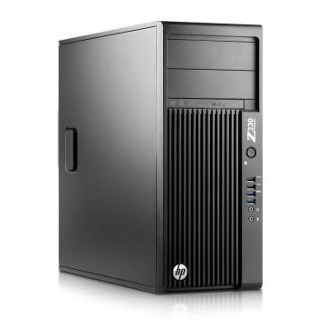 Workstation HP Z230 Tower, Intel Xeon Quad Core E3-1245 v3 3.40GHz-3.80GHz, 8GB DDR3, 500GB SATA, DVR-RW, Video Integrat Intel HD Graphics P4600, Second Hand Workstation