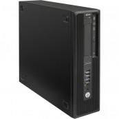 Workstation HP Z240 Desktop, Intel Xeon Quad Core E3-1230 V5 3.40GHz-3.80GHz, 24GB DDR4, SSD 120GB + HDD 1TB SATA, nVidia K620/2GB, DVD-RW + Windows 10 Home, Refurbished Workstation