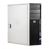 WorkStation HP Z400, Intel Xeon Quad Core W3520 2.66GHz-2.93GHz, 8GB DDR3, 500GB SATA, AMD Radeon HD 7350 1GB GDDR3, DVD-RW, Second Hand Workstation