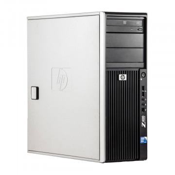 WorkStation HP Z400, Intel Xeon Quad Core W3520 2.66GHz-2.93GHz, 8GB DDR3, 500GB SATA, AMD Radeon HD 7350 1GB GDDR3, DVD-RW, Second Hand Workstation