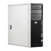 WorkStation HP Z400, Intel Xeon Quad Core W3520 2.66GHz-2.93GHz, 8GB DDR3, 500GB SATA, Placa video Gaming AMD Radeon R7 350 4GB GDDR5 128-Bit, DVD-RW, Second Hand Workstation