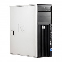 WorkStation HP Z400, Intel Xeon Quad Core W3520 2.66GHz-2.93GHz, 8GB DDR3, 500GB SATA, Placa Video nVidia GT640/1GB, DVD-RW
