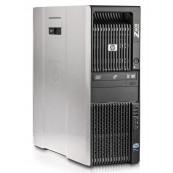 Workstation HP Z600, Intel Xeon Quad Core E5540 2.53GHz-2.80GHz, 8GB DDR3 ECC, 1TB SATA, AMD Radeon HD 7350 1GB GDDR3, Second Hand Workstation