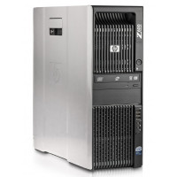 Workstation HP Z600, Intel Xeon Quad Core E5540 2.53GHz-2.80GHz, 8GB DDR3 ECC, 1TB SATA, AMD Radeon HD 7350 1GB GDDR3