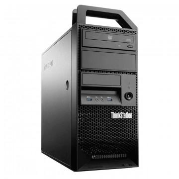 Workstation Lenovo ThinkStation E31 Tower, Intel Quad Core i5-3550 3.30GHz-3.70GHz, 8GB DDR3, SSD 180GB, nVidia Quadro NVS310/512MB, DVD-ROM, Second Hand Workstation