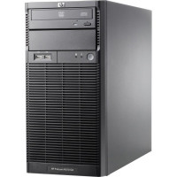 Server HP ProLiant ML110 G6 Tower, Intel Xeon Quad Core X3430 2.40GHz, 16GB DDR3, 4 x 1TB SATA, DVD-ROM, PSU 300W, Second Hand