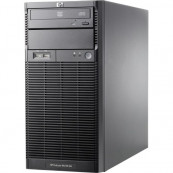 Server HP ProLiant ML110 G6 Tower, Intel Xeon Quad Core X3430 2.40GHz, 8GB DDR3, 1 TB SATA, DVD-ROM, PSU 300W Servere second hand