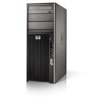WorkStation HP Z400, Intel Xeon Hexa Core X5650 2.66GHz-3.06GHz, 12GB DDR3, 500GB SATA, Placa Video nVidia NVS300/512MB-64 biti, DVD-RW