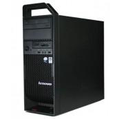 Workstation Lenovo ThinkStation S20 Tower, Intel Xeon Hexa Core X5650 2.66Ghz-3,06GHz, 8GB DDR3, SSD 120GB + 1TB HDD, nVidia NVS 315/1GB, DVD-RW + Windows 10 Pro, Refurbished Workstation