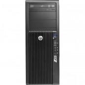 Workstation Refurbished HP Z210, Intel Xeon Quad core E3-1240, 3.3 Ghz-3.70GHz, 4GB DDR3, 500GB HDD, DVD-ROM, Second Hand Workstation