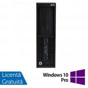 Workstation Refurbished HP Z230 Desktop, Intel Xeon E3-1245 v3 3.40GHz, 8GB DDR3, 500GB SATA, DVD-RW, Placa video Nvidia Quadro K600 1GB DDR3 + Windows 10 Pro Workstation