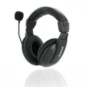 Casti Stereo 4World cu microfon, fir 3 metri Periferice