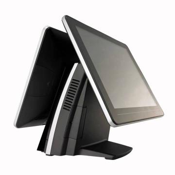Sistem POS FEC AerPOS AP-3615, 2 x 15 Inch LCD TouchScreen, 1024 x 768, Intel Celeron G540 2.50GHz, 2GB DDR3, 320GB SATA, Second Hand Echipamente POS