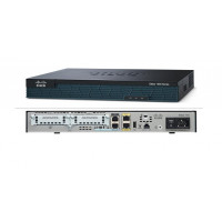 Router Cisco 1921/K9 cu 2 onboard GE, 2 EHWIC slots, 256MB USB Flash (internal) 512MB DRAM
