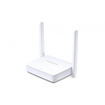 ROUTER Wireless Mercusys MW301R, 2x Antene externe, 2.40GHz, 300Mbps Retelistica