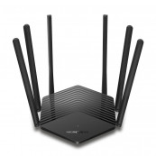 ROUTER MERCUSYS wireless 1900Mbps, 2 porturi LAN Gigabit, 1 port WAN Gigabit, Dual Band AC1900 6 x antena externa, MR50G Retelistica
