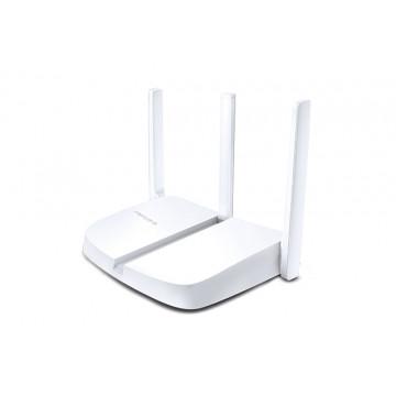 ROUTER MERCUSYS MW305R Wireless, 300Mbps, 4 porturi 10/100Mbps, 3 x  Antene externe Retelistica