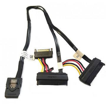Cablu Dell T3F4V Mini SAS la Dual SAS si Power Cable, 45CM, Second Hand Componente Calculator