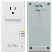 Kit adaptor PowerLine ZyXEL PLA407 HomePlug, 200 Mbps, Second Hand Software & Diverse