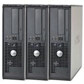 Pachet 3 x Calculator Dell Optiplex 380 SFF, Intel Celeron E3300 2.5Ghz, 2GB DDR3, 160GB HDD, Second Hand Calculatoare Second Hand