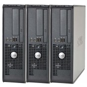Pachet 3 x Calculator Dell Optiplex 380 SFF, Intel Celeron E3300 2.5Ghz, 2GB DDR3, 160GB HDD, DVD-ROM, Second Hand Calculatoare Second Hand