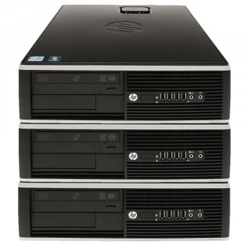 Pachet 3 x Calculator HP 6000 Pro SFF, Intel Core 2 Duo E8400 3.0GHz, 4GB DDR3, 250GB SATA, DVD-RW, Second Hand Calculatoare Second Hand
