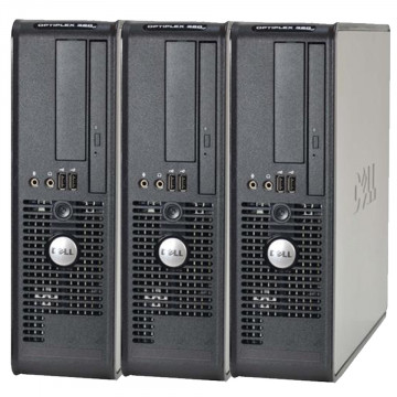 Pachet 3 x Calculator Dell Optiplex 380 SFF, Intel Celeron E3300 2.5GHz, 4GB DDR3, 160GB HDD, Second Hand Calculatoare Second Hand