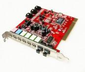 Sound Blaster VIA, Model Number VT1721-0740CD, Slot PCI Componente Calculator