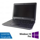 Laptop DELL Latitude E7240, Intel Core i7-4600U Generatia a 4-a 2.10GHz, 8GB DDR3, 256GB SSD + Windows 10 Pro Laptopuri Refurbished