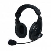 Set MSONIC casti microfon stereo, Negru Periferice