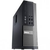 Calculator DELL OptiPlex 7010 SFF, Intel Core i3-3240 3.40GHz, 8GB DDR3, 120GB SSD, DVD-RW, Second Hand Calculatoare Second Hand