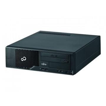 Calculator FUJITSU Esprimo E500, Desktop, Intel Celeron G530 2.4 GHz, 4 GB DDR 3, 320GB SATA, DVD-RW Calculatoare Second Hand