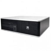 Calculator HP DC5800 SFF, Intel Core 2 Duo E8500 3.16GHz, 4GB DDR2, 250GB SATA, DVD-RW Calculatoare Second Hand