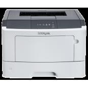 Imprimanta Laser Monocrom Lexmark MS310dn, Duplex, A4, 35ppm, 1200 x 1200 dpi, Retea, USB, Paralel, Imprimante Second Hand