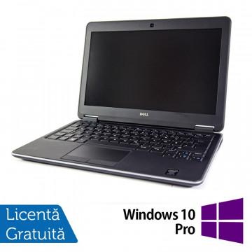 Laptop DELL Latitude E7240, Intel Core i5-4300U 1.90GHz, 8GB DDR3, 120GB SSD, 12.5 Inch, Webcam + Windows 10 Pro, Refurbished Laptopuri Refurbished